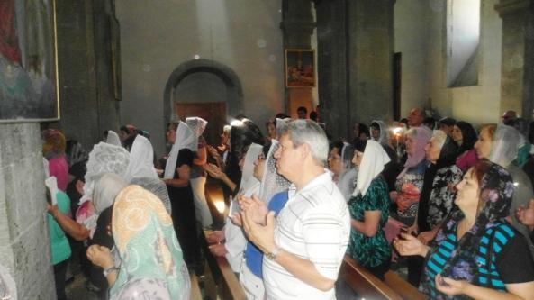 Գյուտ Խաչի տոնը Արկազի Սուրբ Խաչ վանքում