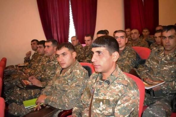 4-րդ բանակային զորամիավորումում կայացել է կրտսեր հրամանատարների հավաք- խորհրդակցություն