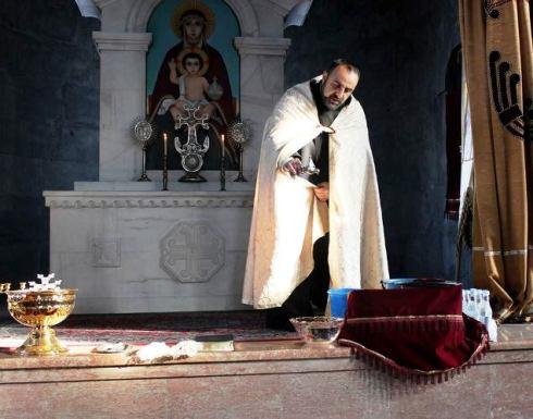 Ջրօրհնեքի արարողություն Մալիշկա համայնքի Սուրբ Աննա եկեղեցում