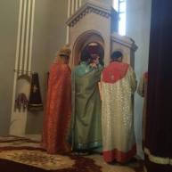 Սուրբ Ծննդյան Ջրագալույցի Սբ. Պատարագ Ջերմուկի Սբ. Գայանե եկեղեցում
