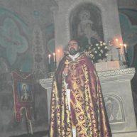 Սուրբ Ծննդյան Ջրագալույցի Սբ. Պատարագ Եղեգնաձորի Սբ. Աստվածածինեկեղեցում