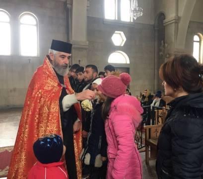 Սուրբ Սարգսի տոնը Վայքի Սուրբ Տրդատ եկեղեցում
