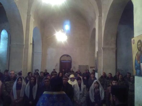 Տեառնընդառաջի տոնը սահմանամերձ Խաչիկ համայնքում
