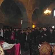 Սուրբ Սարգսի տոնակատարությունները Եղեգնաձորի Սուրբ Աստվածածին եկեղեցում