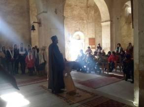 «Մեծ պահք» թեմայով բանախոսություններ Խաչիկ համայնքի Ս. Աստվածածին եկեղեցում, դպրոցում և զորամասում