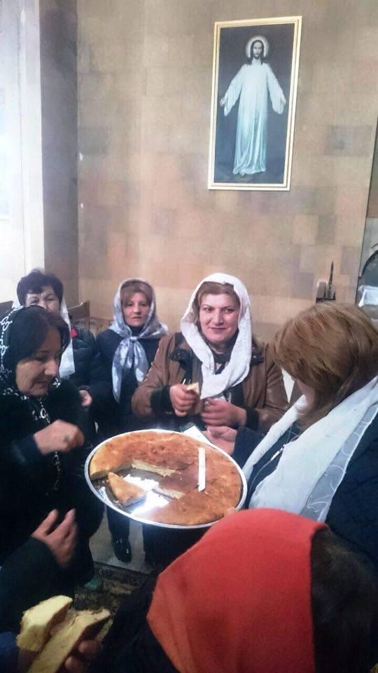 Ջերմուկի Սուրբ Գայանե եկեղեցում նշեցին Միջինքը