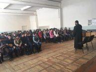 Հանդիպում Եղեգնաձորի թիվ 1 հիմնական դպրոցում