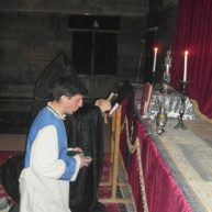 Հանգստյան ժամերգություն Եղեգնաձորի առաջնորդանիստ Սուրբ Աստվածածին եկեղեցում
