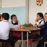 Զատկի տոնը Քարագլխի միջն դպրոցի երկրորդ դասարանում