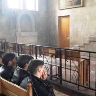 Ավագ հինգշաբթիի արարողությունները Վայքի Ս. Տրդատ եկեղեցում