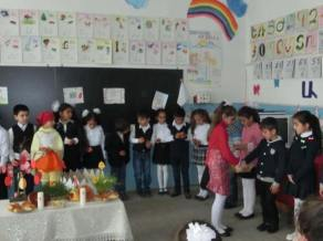 Ս. Հարության տոնը Արենիի միջն. դպրոցում