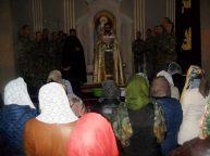 Ավագ հինգշաբթիի արարողությունները Ջերմուկի Ս. Գայանե եկեղեցում