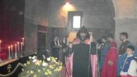 Ավագ Ուրբաթ օրվա արարողությունները Եղեգնաձորի առաջնորդանիստ Ս. Աստվածածինեկեղեցում