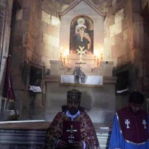 Մայիսի 9-ին Սուրբ և Անմահ Պատարագ մատուցվեց Նորավանքում