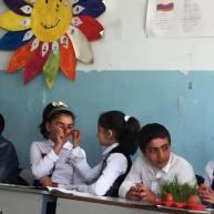 «Ս. Զատիկ» թեմայով բաց դաս Գլաձորի միջն. դպրոցի 5-րդ դասարանում