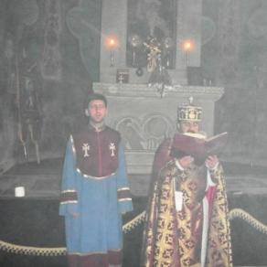 Սուրբ և Անմահ Պատարագ Եղեգնաձորի Ս. Աստվածածին եկեղեցում