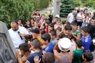 Վարդավառի տոնը Մալիշկայի Սուրբ Աննաեկեղեցում