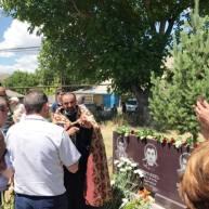 Գլաձոր համայնքում տեղի ունեցավ Արցախյան պատերազմում զոհված գլաձորցի 6 ազատամարտիկների հիշատակը հավերժացնող հուշաքարի բացման արարողությունը
