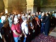 Նորակոչիկների օրհնություն Եղեգնաձորի Սուրբ Աստվածածին եկեղեցում