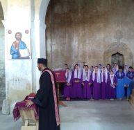 Ս. Աստվածածնի Վերափոխման տոնը սահմանամերձ Խաչիկ համայնքի Ս. Աստվածածին եկեղեցում