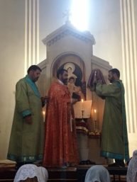 Սուրբ Աստվածածնի Վերափոխման (Խաղողօրհնեք) տոնը Ջերմուկի Ս. Գայանե եկեղեցում