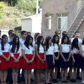 Սեպտեմբերի 1-ը Եղեգնաձորի ավագ դպրոցում