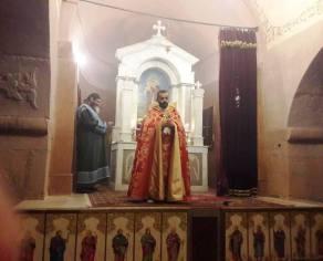 Սուրբ և Անմահ Պատարագ մատուցվեց Մարտիրոսի Ս. Երրորդություն եկեղեցում