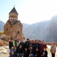 Նուբարաշենի Սրբոց Նահատակաց եկեղեցու հավատացյալների ուխտագնացությունը Վայոց Ձորի թեմ