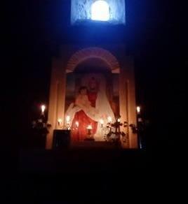 Սուրբ Ծննդյան արարողությունները սահմանամերձ Խաչիկ համայնքի Ս. Աստվածածինեկեղեցում