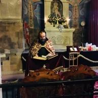 Սուրբ Սարգսի տոնակատարությունները Եղեգնաձորի Սուրբ Աստվածածինեկեղեցում