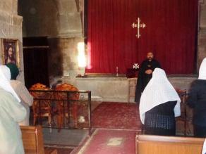 Խաղաղական ժամերգություն Մալիշկայի Սուրբ Աննա եկեղեցում