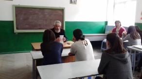 Տեր Ներսեսը հանդիպեց Արփիի դպրոցի աշակերտների հետ