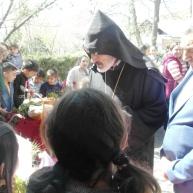 Սուրբ Հարության կամ Ս. Զատկի տոնը Եղեգնաձորի առաջնորդանիստ Ս. Աստվածածինեկեղեցում