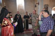 Վարդավառի տոնին Աշոտ Երկաթ թագավորի Սուրբ Խաչով օրհնվեց Նախիջևանյան սահմանը