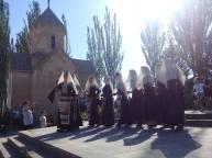 Խաղողօրհնեքը Աղավնաձոր գյուղում