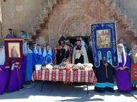 Սուրբ Աստվածածնի Վերափոխման (Խաղողօրհնեքի) տոնի արարողությունները Նորավանքում