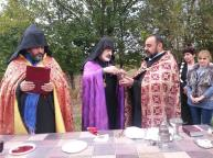 Եկեղեցու հիմնօրհնեք Գետափ համայնքում