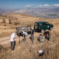 Եվրոպացի եւ հայ կամավորները Վայոց ձորում արահետներ են կառուցել